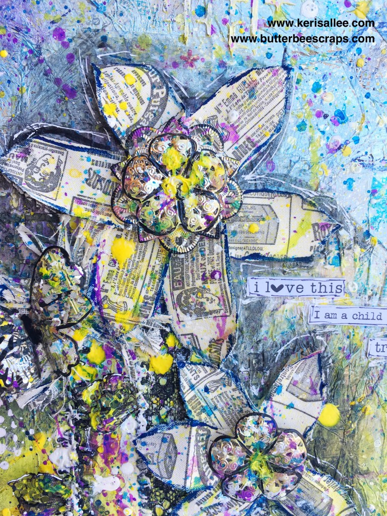 Butterbee Scraps Mixed Media
