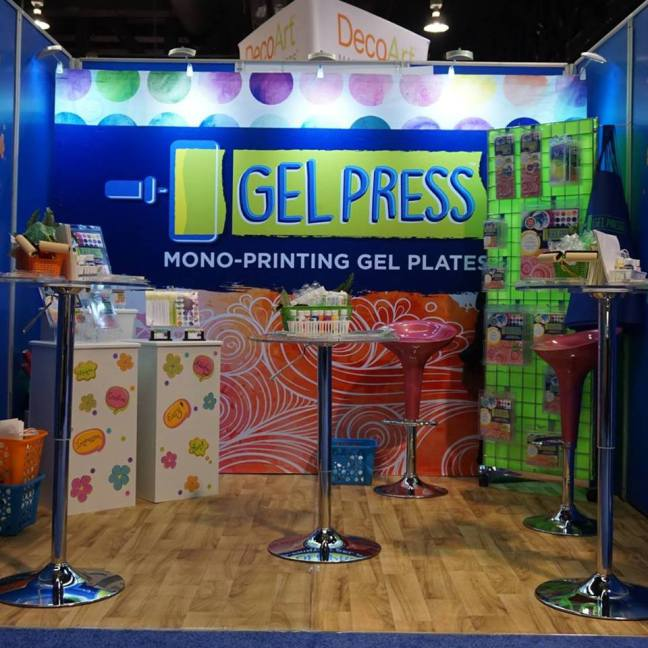 Gel Press CHA Booth