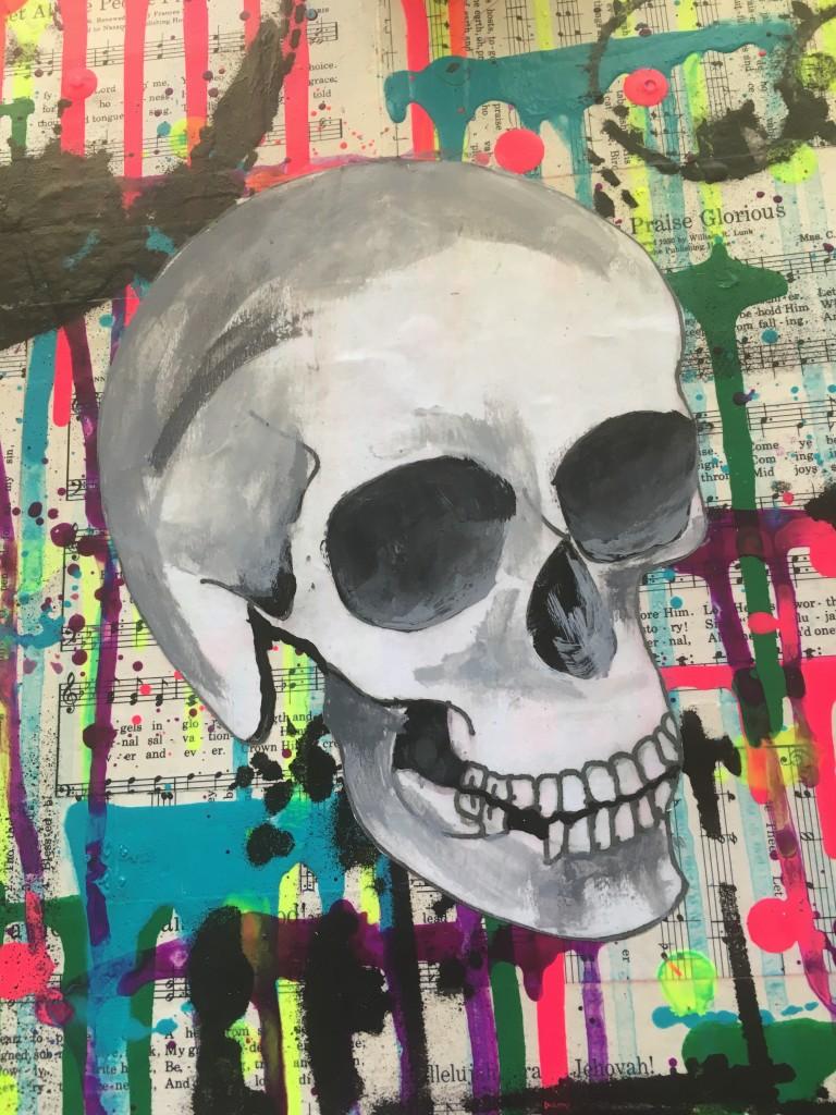 Skull Sketch Free Printable