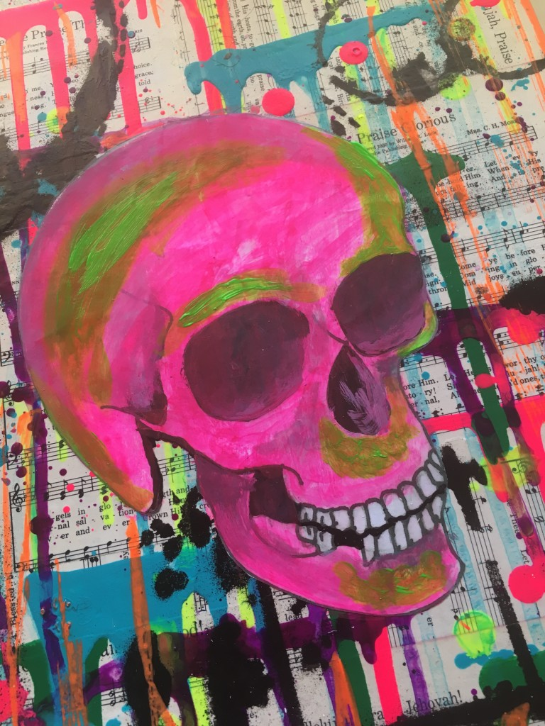 Hobby Lobby Master's Touch Neon Acrylic Paint