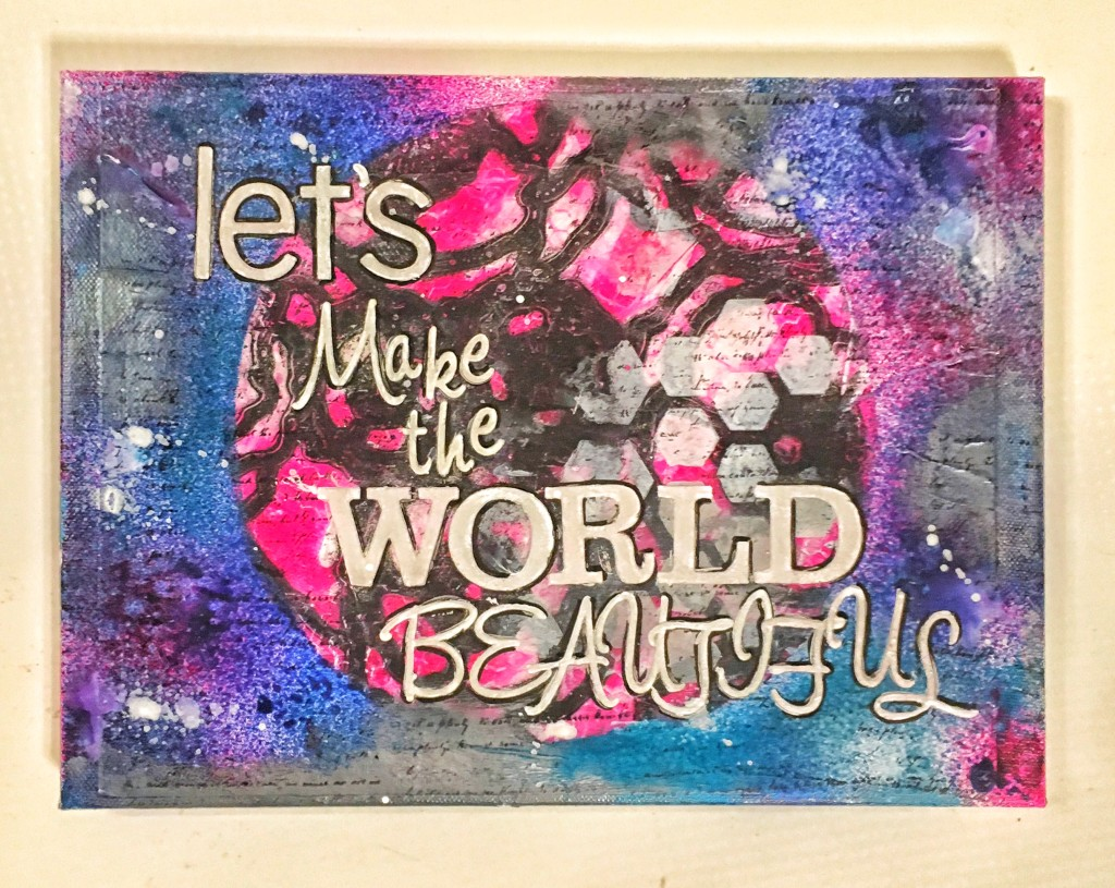 Deco Art Earth Day Canvas