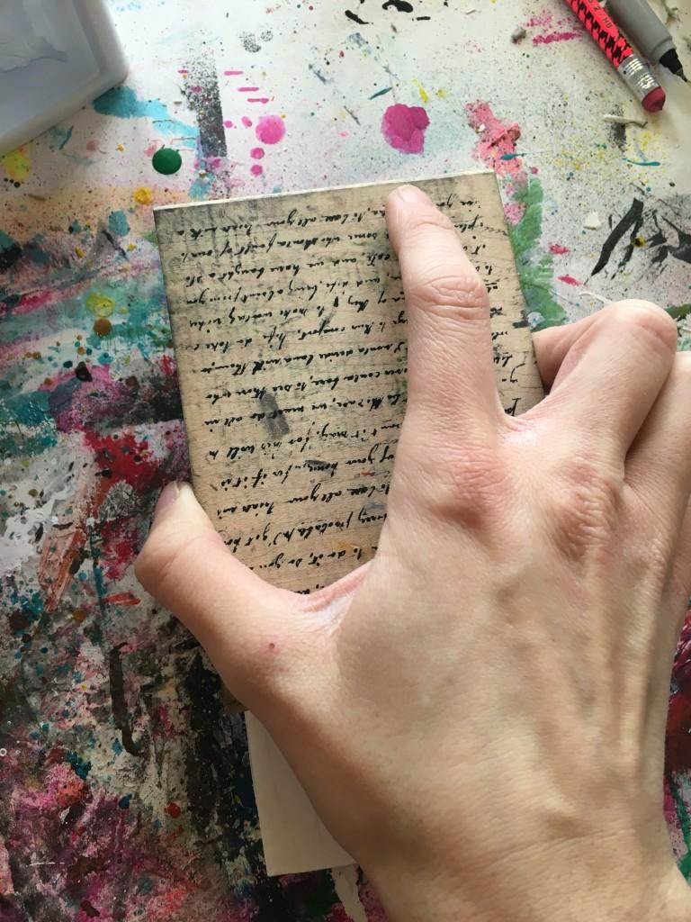 Butterbee Scraps Mixed media faith journal