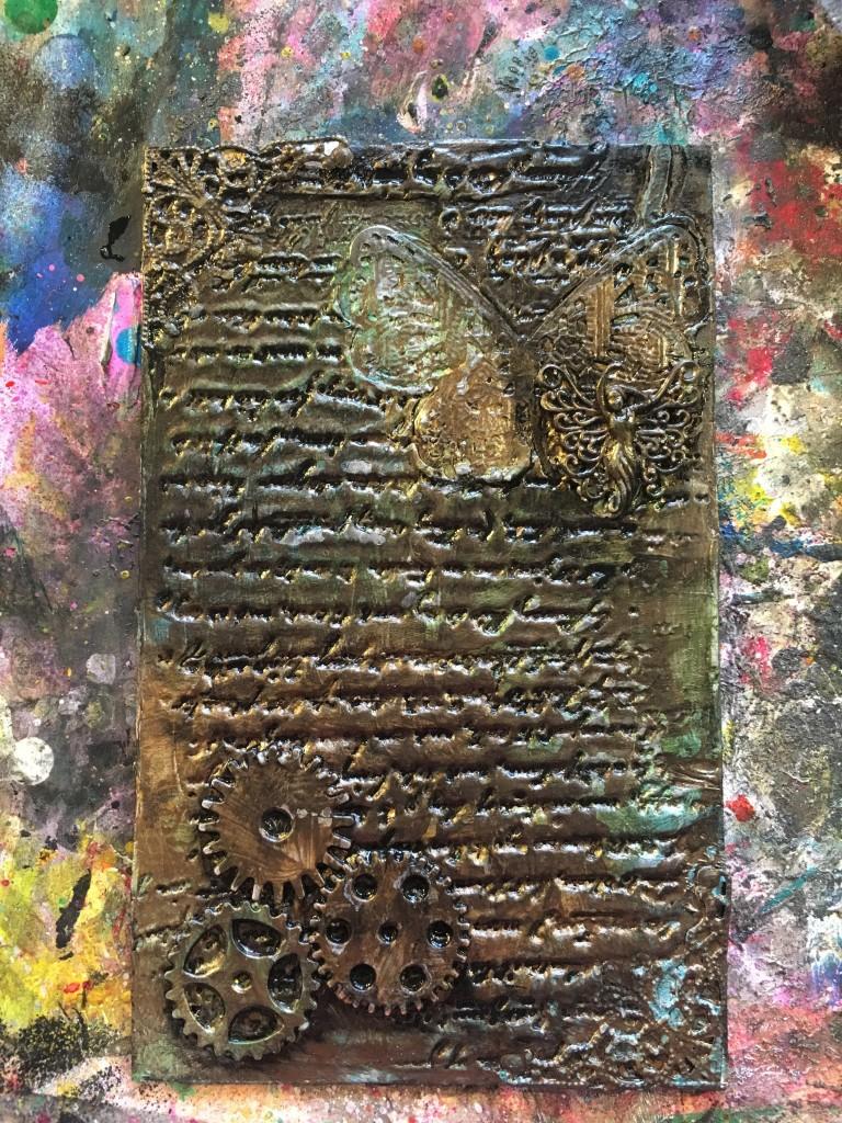 Butterbee Scraps Mixed Media Art Journal