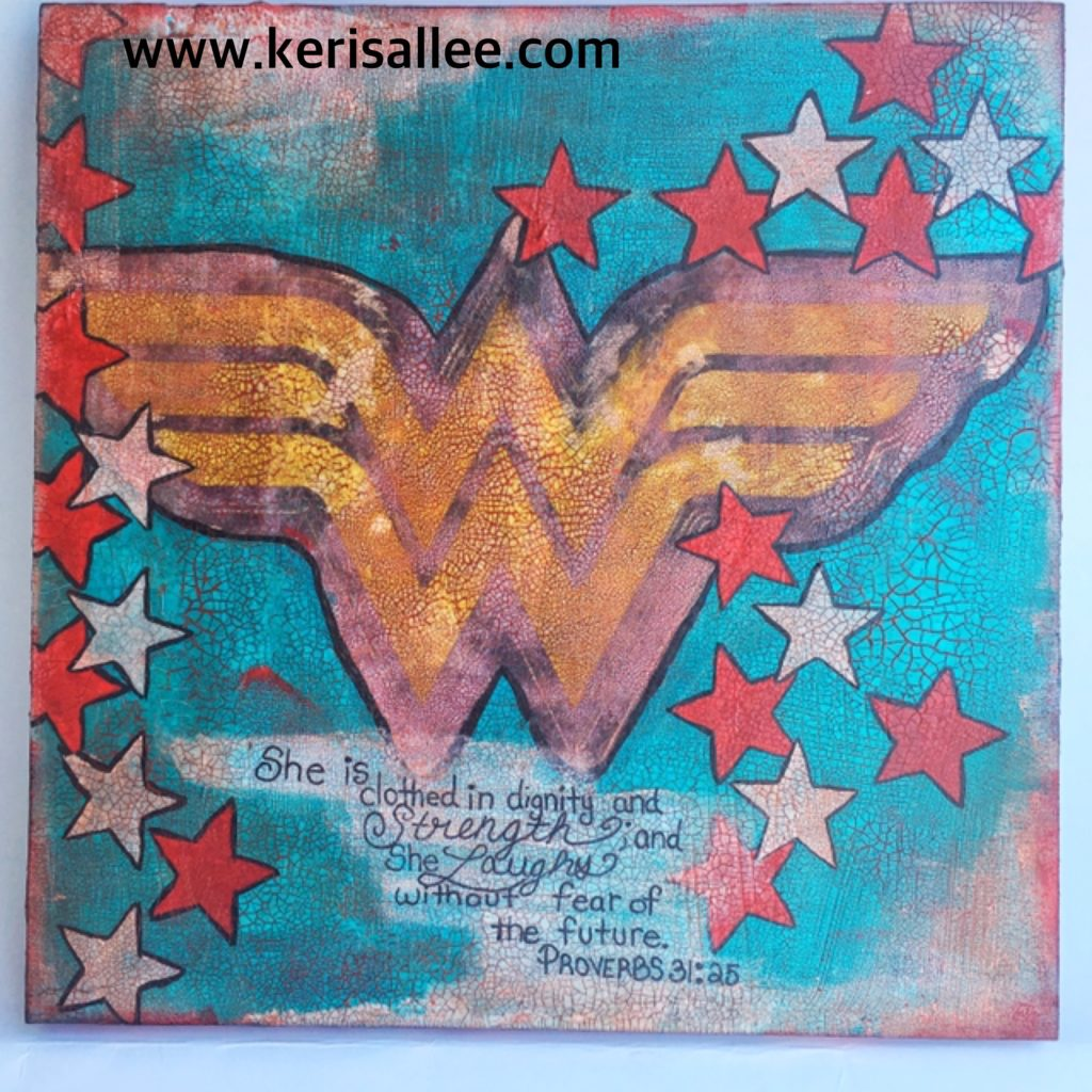 Wonder Woman Proverbs 31
