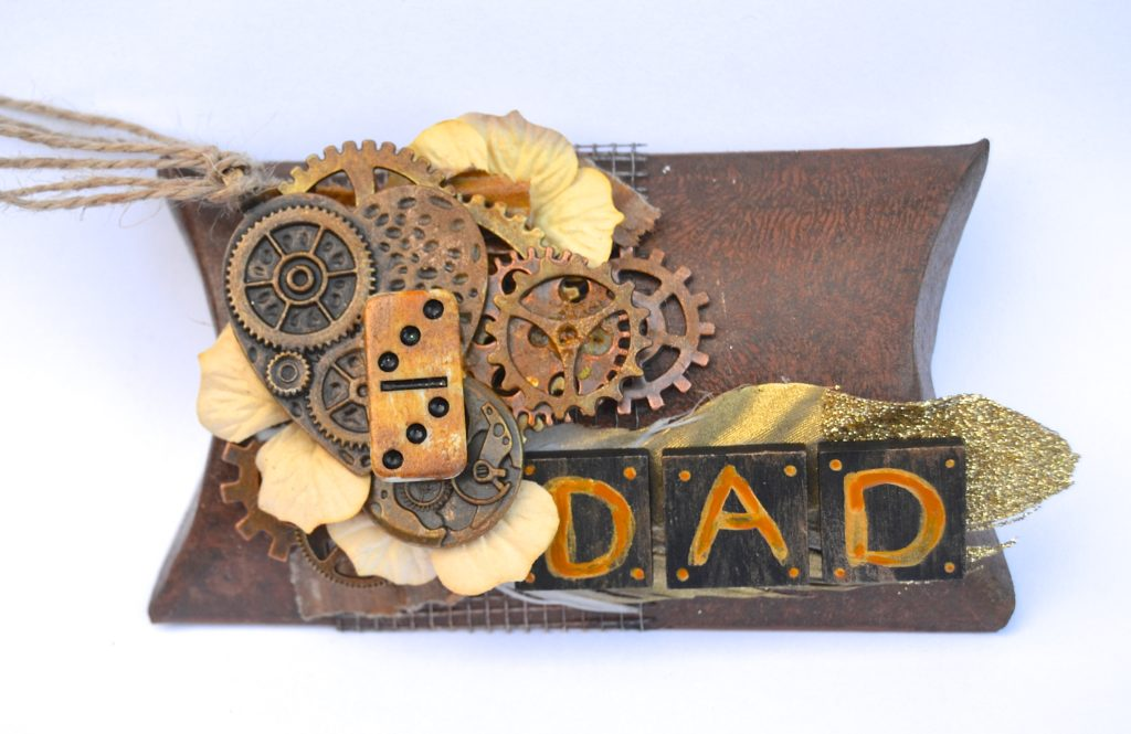 Gel Press_Father's Day_Pillow Box