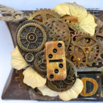 Butterbee Scraps_Prima_DecoArt_Gel Press