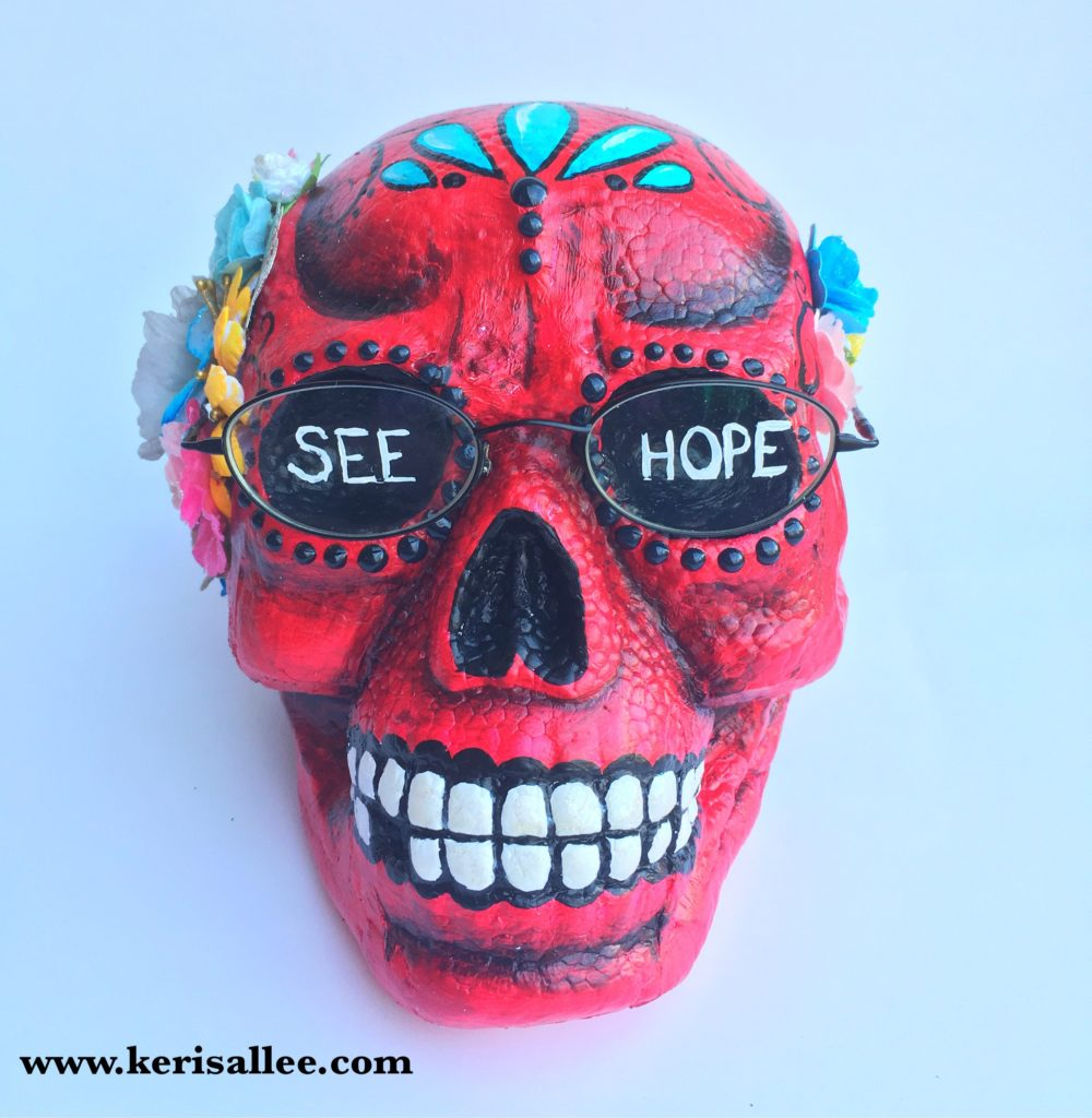 Make it Fun Eyeglass Skull