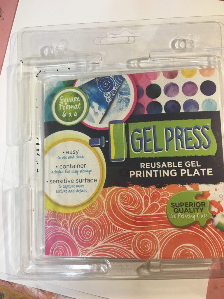 Gel Press 6x6 Plate
