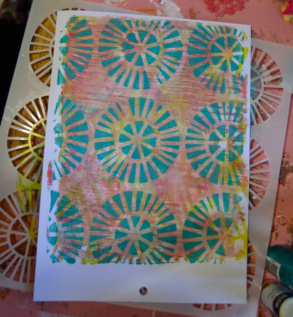 DecoArt Gel Press Monoprinting