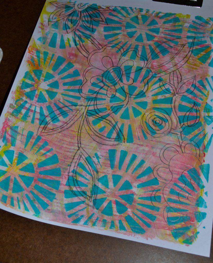 Zentangles Inspired Gel Press
