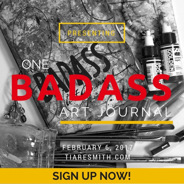 tiare smith badass art journal embrace keri sallee