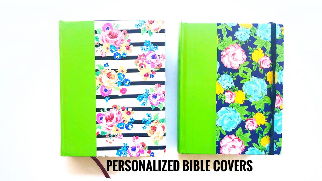 Personlized Bible covers by Keri Sallee